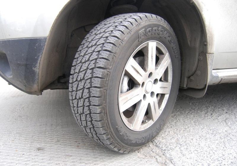 шери нива шины грязь